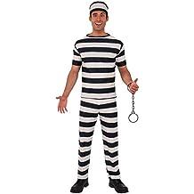 Rubie's - Disfraz de prisionero para adultos (55029)