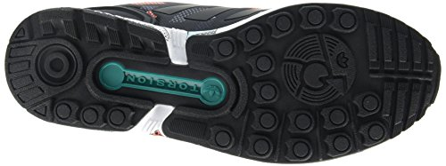 Adidas Zx Flux, Scarpe, Unisexe Schwarz (noyau Noir / Noyau Noir / Eqt Vert S16)