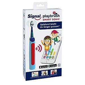 Playbrush Smart Sonic, smarte elektrische Schallzahnbürste für Kinder mit interaktiver Spiele-App