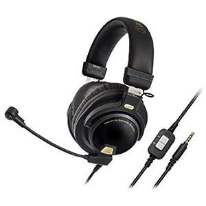 Audio-Technica ATH-PG1 Premium Gaming Kopfhörer schwarz/gelb