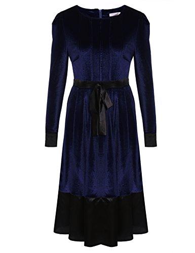 cooshional - Robe - Crayon - Femme Bleu