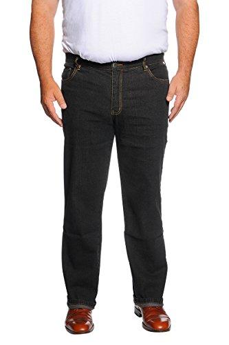 Herren 5-Pocket Jeans (60, Schwarz) in den Größen 60, 62, 64, 66, 68, 70, XL, XXL, 3XL, 4XL, 5XL, Große Größen, Übergröße, Big Size, Plus Size,