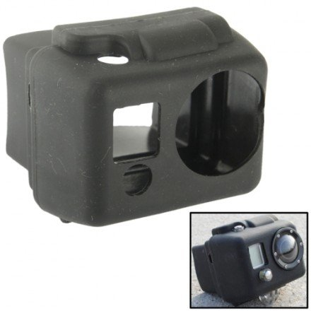 Price comparison product image ST - 40 silicone Protective Case for Gopro Hero 2-Black