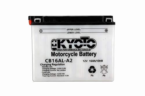 KYOTO - BATTERIA Yb16al-a2 - L205xl71xH164 - Con Manutenzione - Fornita con acido
