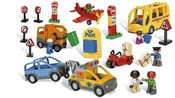 LEGO® DUPLO Transport und Verkehr 56 Elemente