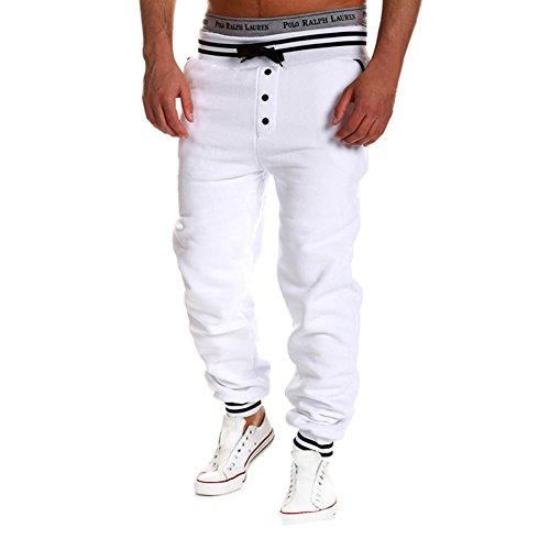 HUASHI - Manteau - Homme Blanc - Blanc