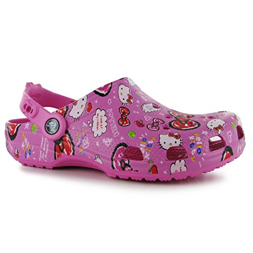 crocs-ninos-hello-kitty-good-times-clogs-juniors-chicas-calzado-correa-de-talon-party-pink-3-36
