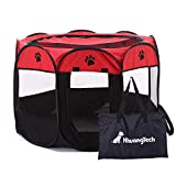 XianghuangTechnology Soft Fabric Portable Foldable Pet Dog Cat Puppy Playpen, Indoor/Outdoor use Pet