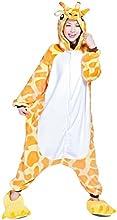 Moollyfox Unisexo Kigurumi Pijama Adulto Disfraz de halloween para cosplay Homewear Jirafa S