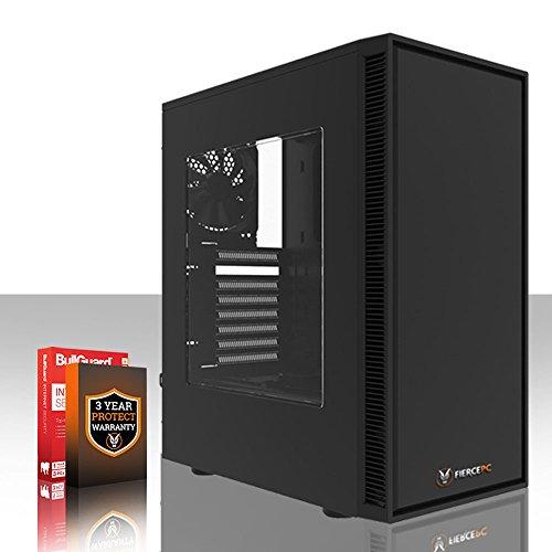 Fierce Guardian Gaming PC - Schnell 4.2GHz Hex-Core AMD Ryzen 5 2600X, 1TB Festplatte, 16GB 2666MHz, NVIDIA GeForce GTX 1050 2GB, Windows Nicht Enthalten 387883
