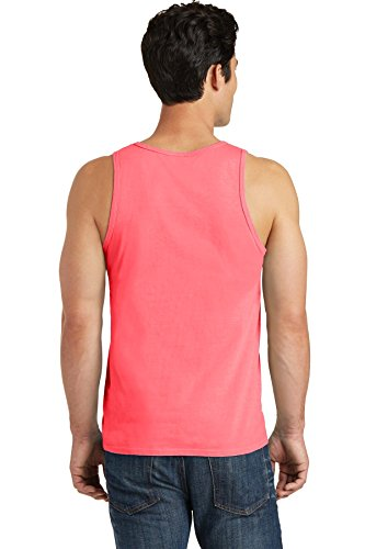 Port & Company pc099tt pigment-dyed Tank Top Neon-Koralle