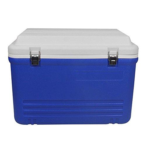 JXS Kühlbox Voller Hochleistungskühlschrank, Camping, Picknick, Ausgestattet mit Thermometer (65L)