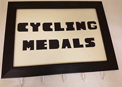 Radsport Medaille Aufhänger/Medaillen Display (Robin Fahrrad)