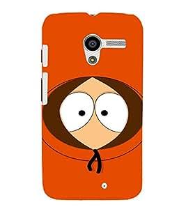 EPICCASE They killed kenny ! Mobile Back Case Cover For Moto X (Designer Case)