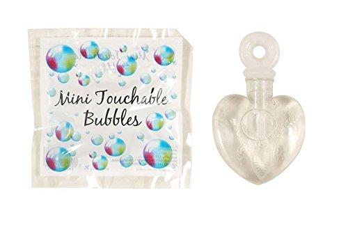 12 x Seifenblasen in Herzform ┃ Langanhaltende Seifenblasen ┃ Anfassbar ┃ Mitgebsel -