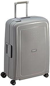 Samsonite S'Cure Spinner 69/25 Koffer, 69cm, 79 L, Silver