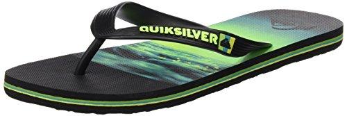 quiksilver-molokai-hold-down-sandali-uomo-multicolore-black-green-green-42-eu-8-uk