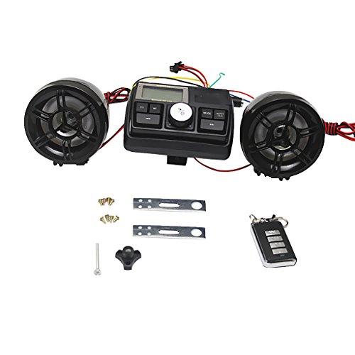 MagiDeal USB FM Radio/MP3 Lautsprecher Stereoanlage Kit für Motorrad Fahrrad