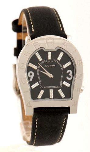 Aigner Herren-Armbanduhr Analog Quarz Leder A22101