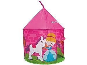 TEOREMA Cortina Juegos para niños de Interior/Exterior Princesa Rosa