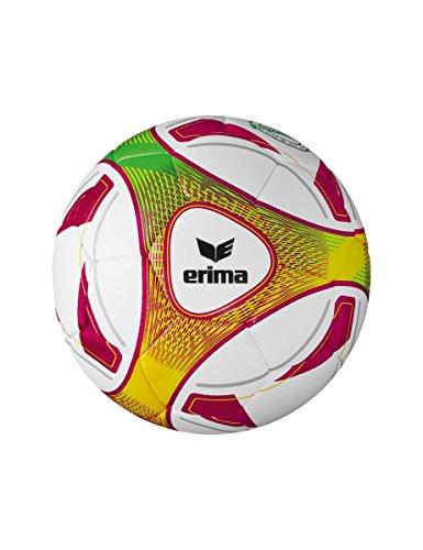 Erima Hybrid Lite 290 Fußball, weiß/Weinrot, 3
