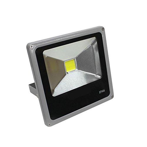 Ledbox LD1021304 Proyector LED, 20 W, Blanco Cálido
