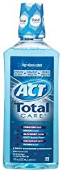 ACT Total Care Anticavity Fluoride Mouthwash-Icy Clean Mint-18 oz