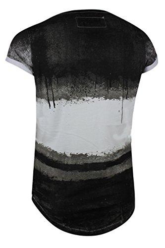 trueprodigy Casual Herren Marken T-Shirt mit Aufdruck, Oberteil cool und stylisch mit Rundhals (kurzarm & Slim Fit), Shirt für Männer bedruckt Farbe: Schwarz 1072169-2999 Black