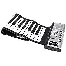 ammoon ammoon Flexible Roll Up électronique de piano clavier virtuel portable 61touches