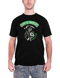 Sons of Anarchy T Shirt Ireland Irish Badge Logo Officiel Homme Nouveau