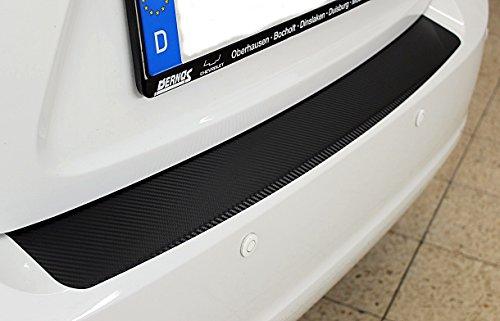 Preisvergleich Produktbild Ladekantenschutz Lackschutzfolie -Schutzfolie in Carbon-3D-Optik Carbonfolie 10011