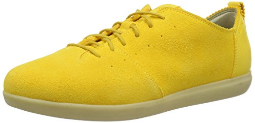 Geox Damen D New Do C Sneakers Gelb (DK YELLOWC2006)