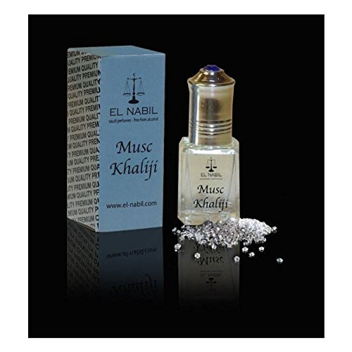 EL NABIL - MUSC KHALIJI 5ml - LOT DE 6