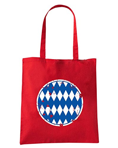 T-Shirtshock - Borsa Shopping WC0212 BAYERN MUNICH T-SHIRT - OLD SCHOOL BAYERN Rosso