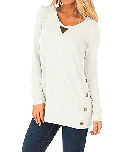 CHENMA - Sweat-shirt - Femme Blanc