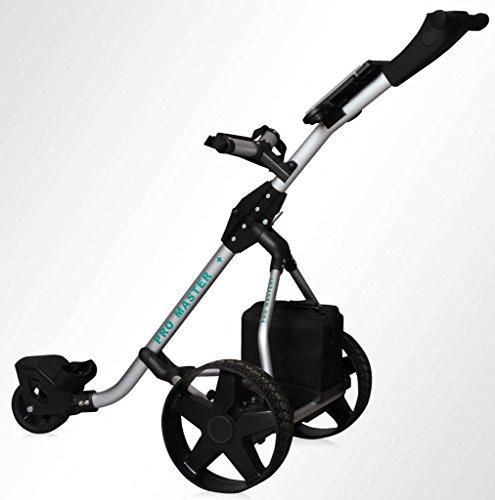 Electric Golf Trolley Digital Folding Cart...