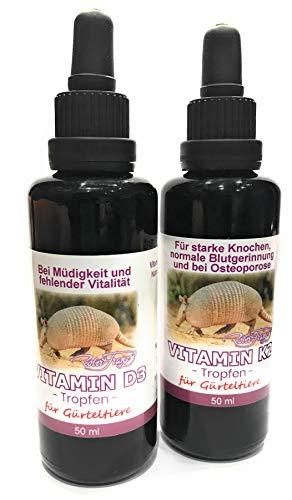 Robert Franz Vitamin D3 Tropfen 1.000 IE - 50ml + Vitamin K2 Tropfen 50 ml SPARPACK, 100 ml