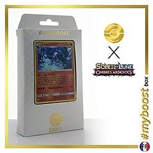 Lucario 71/147 Holo - #myboost X Soleil & Lune 3 Ombres Ardentes - Box de 10 Cartas Pokémon Francés