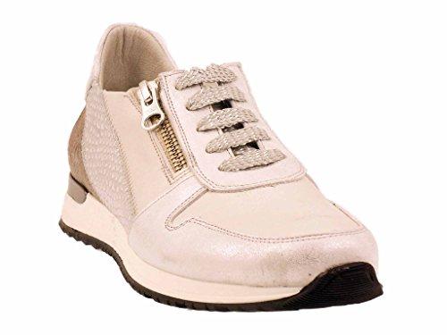 Dorking - Zapatillas de Deporte de Piel Lisa Mujer