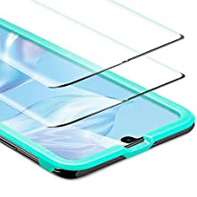 ESR Screen Protector for the Huawei P30 Pro [2 Pack], Tempered Glass Screen Protector [3D Maximum Protection] for the Huawei P30 Pro (2019)
