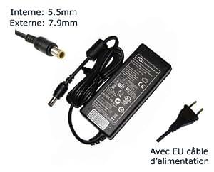 """AC Adaptateur secteur pourLENOVO THINKPAD R61 8933-ACUchargeur ordinateur portable, adaptateur, alimentation """"Laptop Power (TM)"""" de marque (avec garantie 12 mois et câble d'alimentation européen)"""