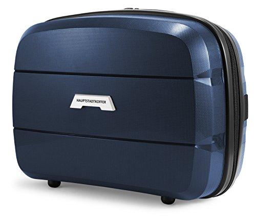 HAUPTSTADTKOFFER - Britz - Beauty Case, Valigia per cosmetici da viaggio in polipropilene, extra leggera, 23 cm, 12 L, Blu scuro