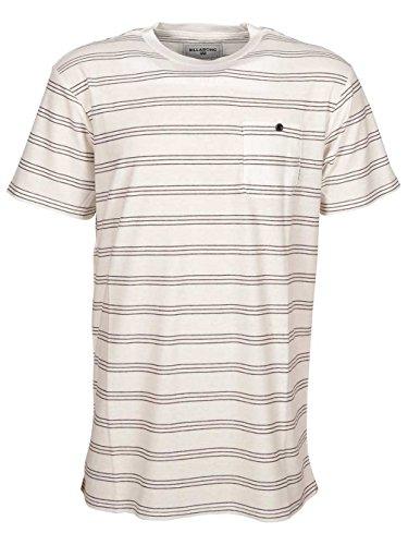 Herren T-Shirt Billabong Byron Crew T-Shirt Eggshell