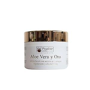 Crema Facial Antiarrugas y Lifting Aloe Vera & Oro 100ml