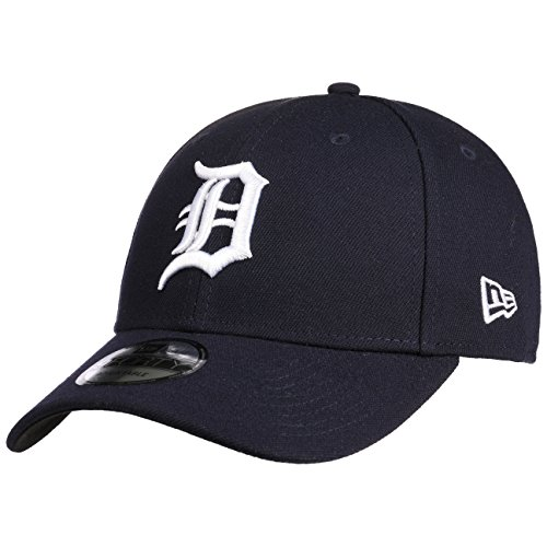New Era 9Forty Detroit Tigers Cap Baseballcap Basecap MLB Strapback (One Size - dunkelblau)