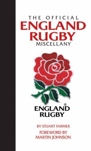 Official England Rugby Miscellany, The by Stuart Farmer (2008-10-13)