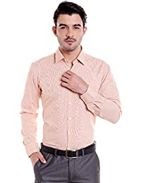 Donear NXG Mens Formal Shirt_SHIRT-1295-YELLOW