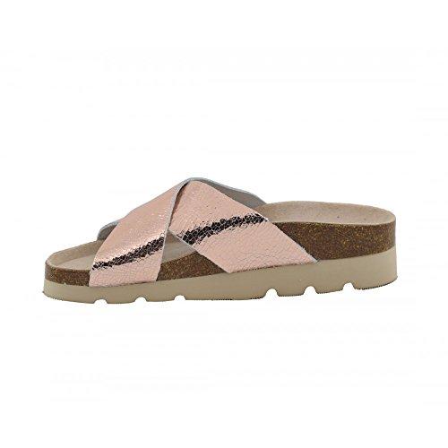 Benavente , Damen Sandalen Lachsfarben