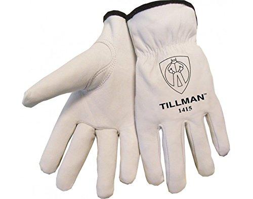 Ziegenleder-treiber Handschuhe (TILLMAN 1415L genarbten Ziegenleder Treiber Handschuhe-L)