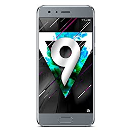 "Honor 9 5.15"" 4G 3200mAh Gris - Smartphone (13,1 cm (5.15""), 1920 x 1080 Pixeles, 20 MP, Android, 7.0, Gris)"